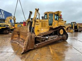 crawler dozer Caterpillar D 7 H with Ripper 1987