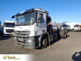 Fahrgestell LKW Mercedes-Benz Actros 2541 + Euro 5 + Hiab Space 4000 engine broken 2010