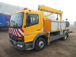 mounted boom lift truck Mercedes-Benz Atego 1218 Atego 2002
