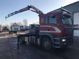 crane truck MAN TGA 18-320 4X4 MANUAL EURO 4 + HMF 1223K4 MET REMOTE 2006