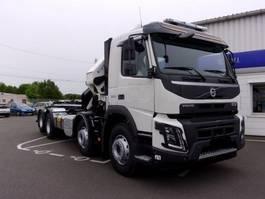 container truck Volvo FMX 500 8x4 - HMF 5020K4 KRAN/CRANE/GRUA AJK 20TONS CONTAINER 2019