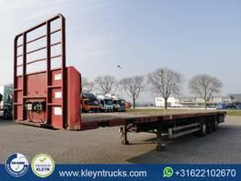 flatbed semi trailer Pacton T3-001 1999