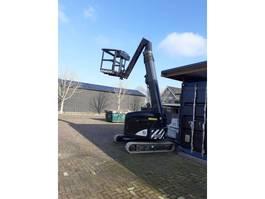 telescopic boom lift crawler Rupshoogwerker Dutch Crane Factory 31.10 2018