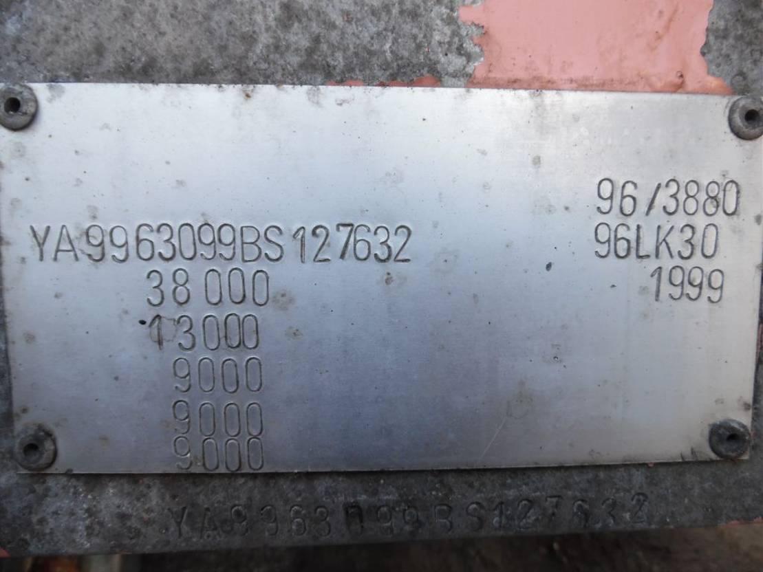 Tankauflieger Lambrecht bulkoplegger  3-asser 1999