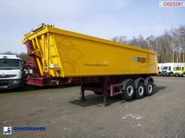 Kippauflieger Bodden Tipper trailer alu + tarpaulin 29 m3, MOT valid till 02-02-2022 2007