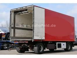 refrigerated trailer Galliker ST2ALF Kühlkoffer Durchladeeinrichtung 2000