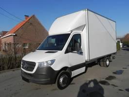 closed box truck Mercedes-Benz Sprinter 516 CDI kast met laadklep 2019