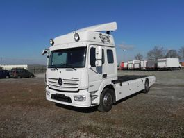 swap body truck Mercedes-Benz Atego 1630 L Met 6 zitplaatsen 2014