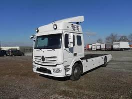 Wechselbrücken-LKW Mercedes-Benz Atego 1630 L Met 6 zitplaatsen 2014