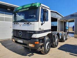 chassis cab truck Mercedes-Benz Actros 4140 8x4 chassis 1999