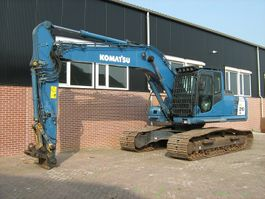 crawler excavator Komatsu PC 210LC-8 2012