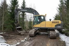 crawler excavator Volvo EC240CL Excavator 2008