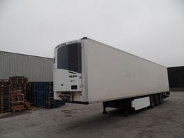 refrigerated semi trailer Krone SDR 27 / tailgate 2000kg   /  Thermo King 2011