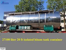 Militär-LKW Van Hool Bitum tank Bitum tank, Isolated, 27100 Liter, 150c, 4,5 Bar, 1986