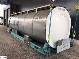 Militär-LKW Van Hool tank 30100 Liter 30 FT Bitum Tank Container 1990