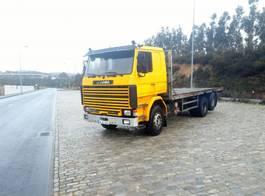 drop side truck Scania 142 6x2 Intercooler Oldtimer project 1984
