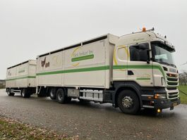 livestock truck Scania R 400 A 6X2 POULTRY TRUCK  LIFSTOCK HOLLAND TRUCK GOOD CONDITION 2010