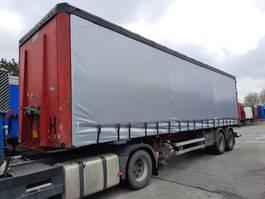 sliding curtain semi trailer Van Hool Schuifzeiloplegger