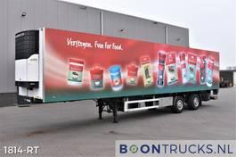 refrigerated semi trailer Van Eck UT-2BI + CARRIER | STEERING AXLE * TAIL LIFT * APK 02-2022 2004