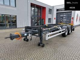 tipper trailer Huffermann HTSA 18.77 LS