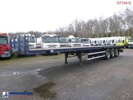 Plattform Auflieger Tirsan 3-axle platform trailer 13.5 m + twistlocks 20-40 ft 2005