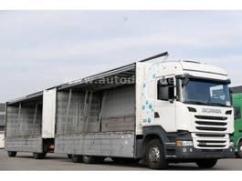 other trucks Scania R450 Getränkekoffer Retarder Anhänger kpl. Zug 2014