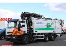 Müllwagen Ginaf C 3128 N Geesink GPM 3 16m3 + Kran HIAB 211BW-3 HiPro 2012