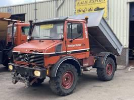 tipper truck > 7.5 t Unimog 427 Kipper U1000 4x4 1990