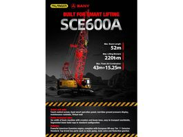 all terrain cranes Palfinger -Sany SANY SCE600A