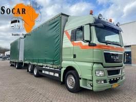 drop side truck MAN TGX 26 6X2 Combination (+ GS MEPPEL trailer) FOR ->: Pluimvee / Geflügel / Chicken TRANPORT 2011