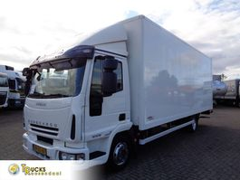 closed box truck Iveco EuroCargo 80 80E18 + Manual + Euro 5 + Dhollandia Lift 2008