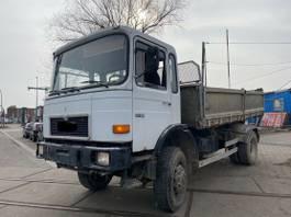 other trucks MAN 16 192 tipper 4x4 Manual Full Steel.6 Cil.Not292 1989