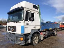 drop side truck MAN 19.403 Flatbed 1996