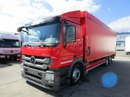 platform truck Mercedes-Benz Actros 2541 L Getränkepritsche 8,2m LBW 2 T*LENK 2012