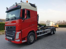 container truck Volvo FH 460 6X2 CONTAINER SYSTEEM- CONTAINER SISTEEM- CONTAINER HAAKSYSTEEM- SYSTEME CONTENEUR 2013