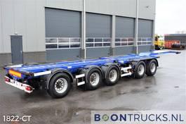 Container-Fahrgestell Auflieger D-TEC CT-53-05D | 2x20-30-40-45ft COMBITRAILER 2005