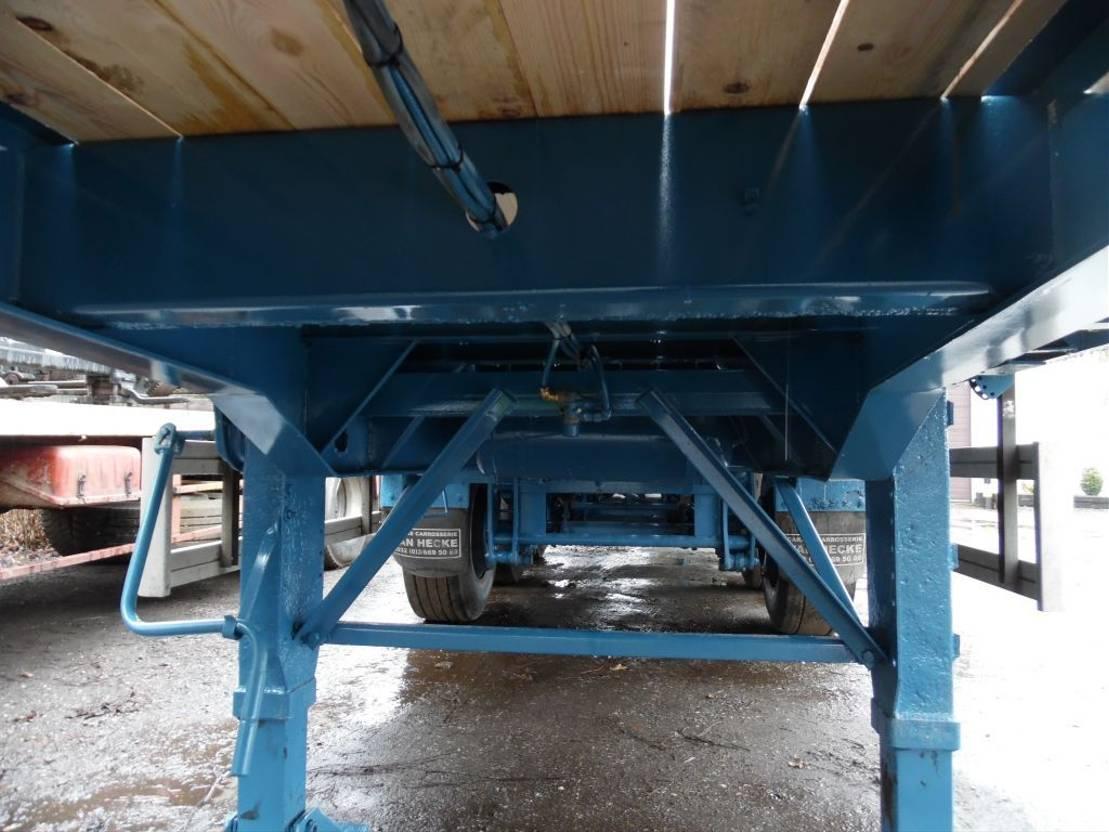Plattform Auflieger Fruehauf 3-assige oplegger