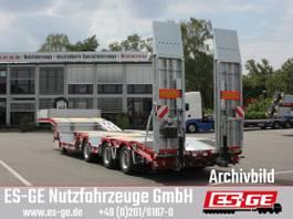 Tieflader Auflieger ES-GE 3-Achs-Satteltieflader mit Radmulden 2019