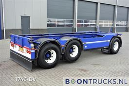 container chassis trailer Floor FLA-10-183 | 20ft CHASSIS * 50mm TREKOOG * APK 06-2021 1989