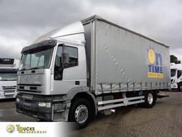 sliding curtain truck Iveco Eurotech 270 + Manual + Dhollandia Lift 2003