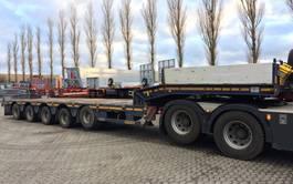 semi lowloader semi trailer Faymonville Multimax lowloader N 5 LA 2016