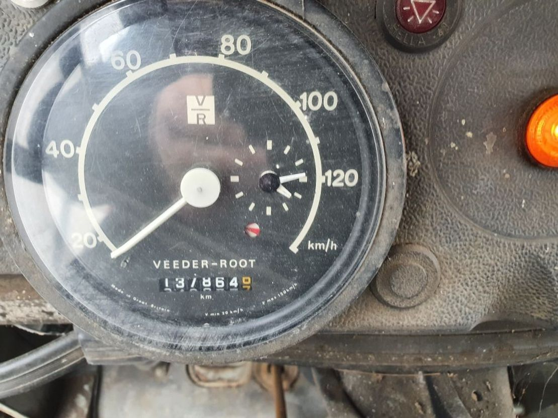 Pritschenwagen  Mercedes-Benz 1313 1978