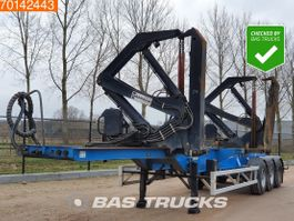 Container-Fahrgestell Auflieger Hammar 160 S 3 axles Container Sideloader 2007