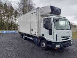 refrigerated truck Iveco 100E19 - EURO6 - BI TEMP-HAYON