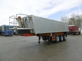 tipper semi trailer Schmitz Cargobull 3-Achs Kippmulde Alu mit Stahleinlage ca. 24m³ 1992