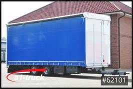 drop side full trailer Krone Krukenmeier TLP 18 Jumbo, verzinkt Hubdach 2016