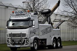 tow-recovery truck Volvo FH16-610 6x4 BB EMPL WRECKER 2012