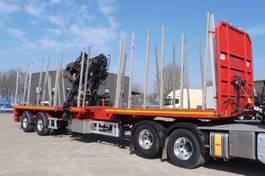 Holztransportauflieger Trax TS 2 D - 2 ASEN GESTUURD TRIDEC MET AFSTANDSBEDIENING -