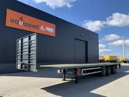 Plattform Auflieger Zwalve Heavy-Duty flatbed, timberstakes, 2x20FT+1x40FT, NL-trailer, APK: 02/2022 2007