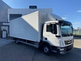 closed box truck MAN TGL 12.250 4x2 BL-C 2020